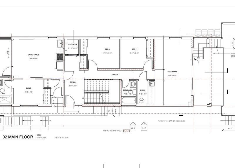 Floor Plan Main   595 Vancouver Ave