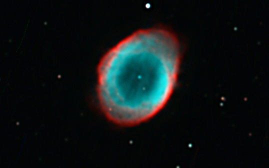 M57 Live Stack Close Up