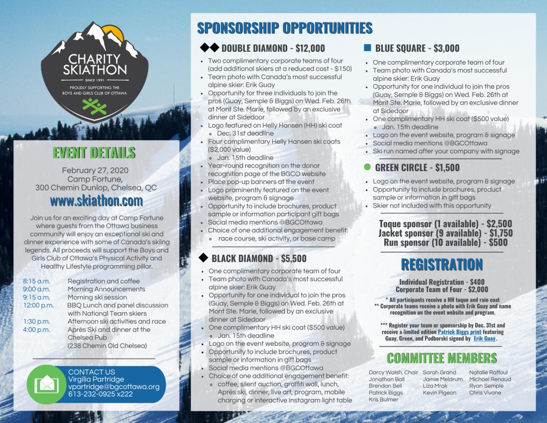 SKI2020   Sponsorship
