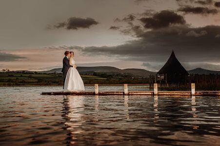 llangorse lake brecon wedding photography